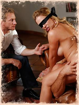 Cherie DeVille - A Hotwife Blindfolded