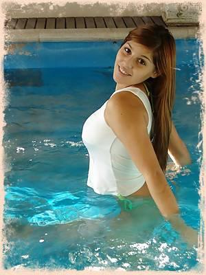Mariah Swimming